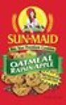 Sun-maid Oatmeal Raisin Apple Cookies
