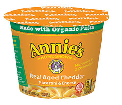 Annie's Macaroni & Cheese Cup - Real Aged Cheddar