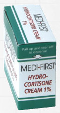 Medi-First Hydrocortisone Cream 1% (12 Count)