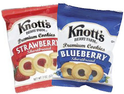 Knotts Berry Farm Cookie Packs (2 oz)