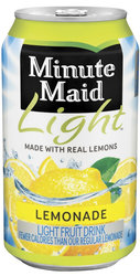 Minute Maid Light Lemonade (12 Packs)