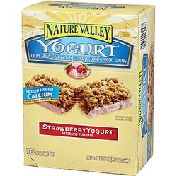 Strawberry Yogurt Chewy Granola Bars (Box of 16)
