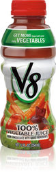 V8 Vegetable Juice (12 oz Bottle)