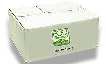 Eco Friendly Utensils Bulk Case (1000 Count)