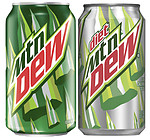 Mtn Dew Cans (12 Packs)