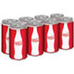 Coke Mini Cans (6 Pack)