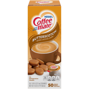 Coffee-Mate Butterscotch (50 count) Liquid Creamer