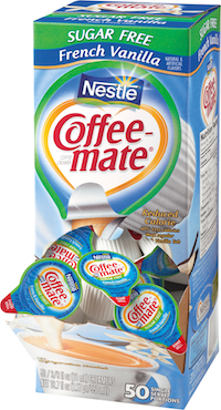 Coffee-Mate Sugar Free French Vanilla (50 Count)