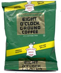 Eight O'Clock Coffee - DECAF (42 Count Case)