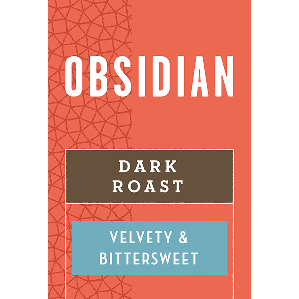 Caribou Coffee - Obsidian - Bold (Whole Bean) 2.5 Pounds
