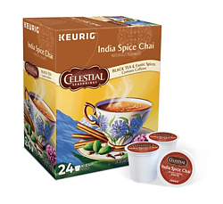 Celestial Seasonings - India Spice Chai Tea - K-Cups (24 Count)