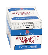 Medi-First Antiseptic Wipes XL (20 Count)