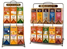 Bigelow Tea Racks