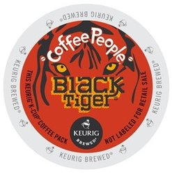 Coffee People - Black Tiger - K-Cups (24 Count)