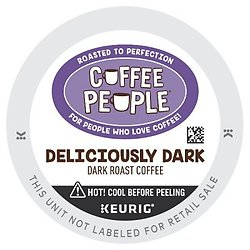 Coffee People Deliciously Dark K-Cups (24 Count)