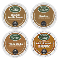 Green Mountain Coffee - Flavored Sampler - K-Cups (22 Count)
