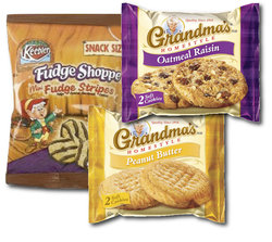 Grandma and Fudge Strips Cookie Combo (30 Count Variety Bag)