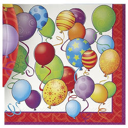Happy Birthday Luncheon Napkins -16 Count