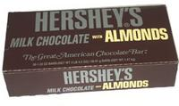 Hershey's with Almonds By the Box (36 count)