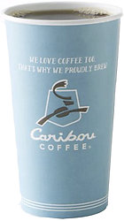 Caribou Coffee Hot Cups (50 Count)