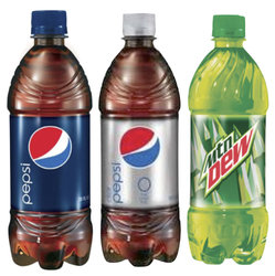 Pepsi Products 20 oz Bottles