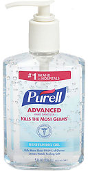 Purell Hand Sanitizer 8 oz Pump (Temporarily unavailable)