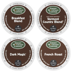 Green Mountain Coffee - Regular Sampler - K-Cups (22 Count)