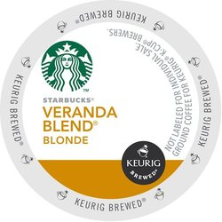 Starbucks Coffee - Veranda Blend - K-Cups (24 Count)