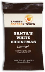 Barnie's Coffee - Santa's White Christmas (Case of 24)
