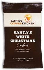 barnies coffee santas white christmas case of 24
