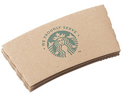Starbucks Coffee Cup Grips (50 count)