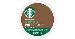 Starbucks Coffee - Pike Place Roast Decaf - K-Cups