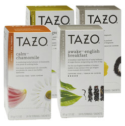 Tazo Tea Variety Kit (4 Boxes)
