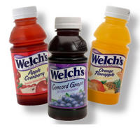 Welch's Variety Drinks (10 oz Plastic) (Yellow Package)