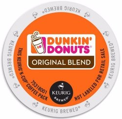 Dunkin Donuts Coffee Original Blend K Cups (24 Count)