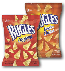 Bugles Snack Size Chips