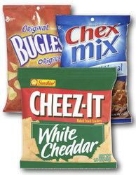 Chex Mix, Cheez-it & Bugles (30 Count Variety Bag)
