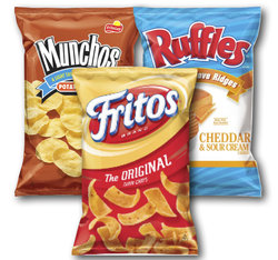Ruffles, Fritos & Munchos - 30 Count Variety Bag