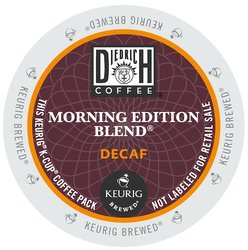 Diedrich Coffee - Morning Edition Decaf - K-Cups (24 Count)