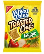 Wheat Thins Toasted Chips - Veggie