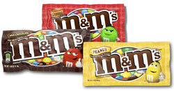 M&M's Combo (30 Count Variety Bag)