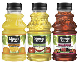 Minute Maid Juice Bottles (6 Pack) 10oz