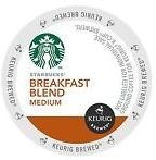 Starbucks Coffee - Breakfast Blend K-Cups