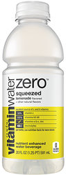 Vitamin Water Zero - Squeezed - Lemonade 20 oz Bottle