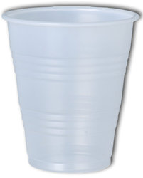 7 oz Plastic Water Cups - 100 Count (Perfect for ION Pro Water Cooler Stand)